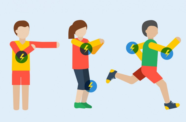 movimientos corporales