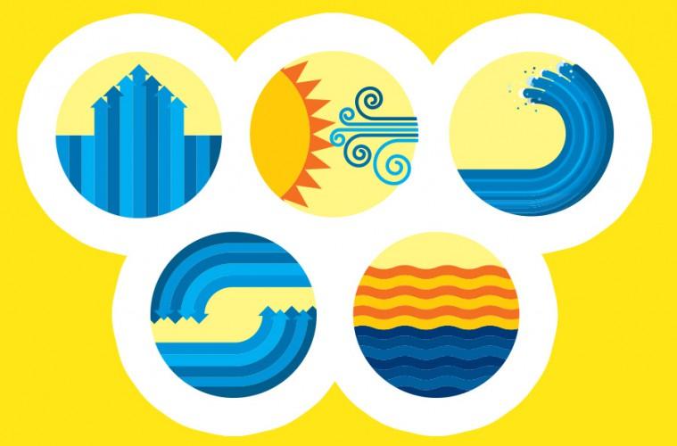 energía del mar