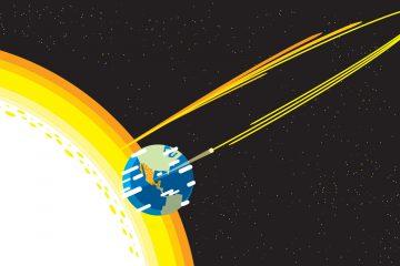 energía solar espacial