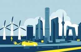 Vehículos eléctricos y energía eólica