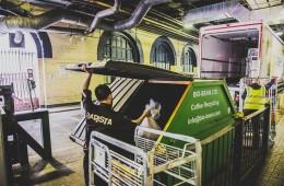 Biomasa de café