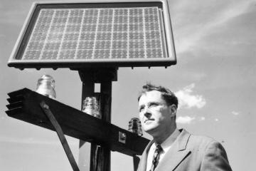 pasado de la celda fotovoltaica