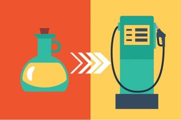 aceite comestible en biodiésel